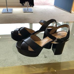 Michael For Michael Kors black Platform heels